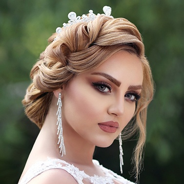 مینا گلکار گریمور عروس